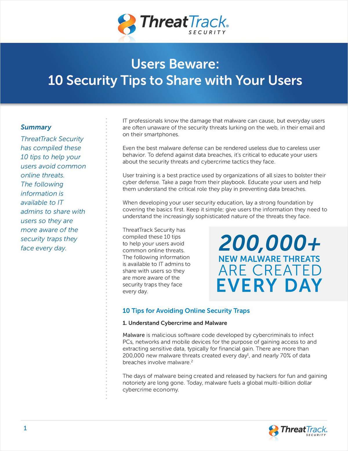 Users Beware: 10 Security Tips to Share with Your Users