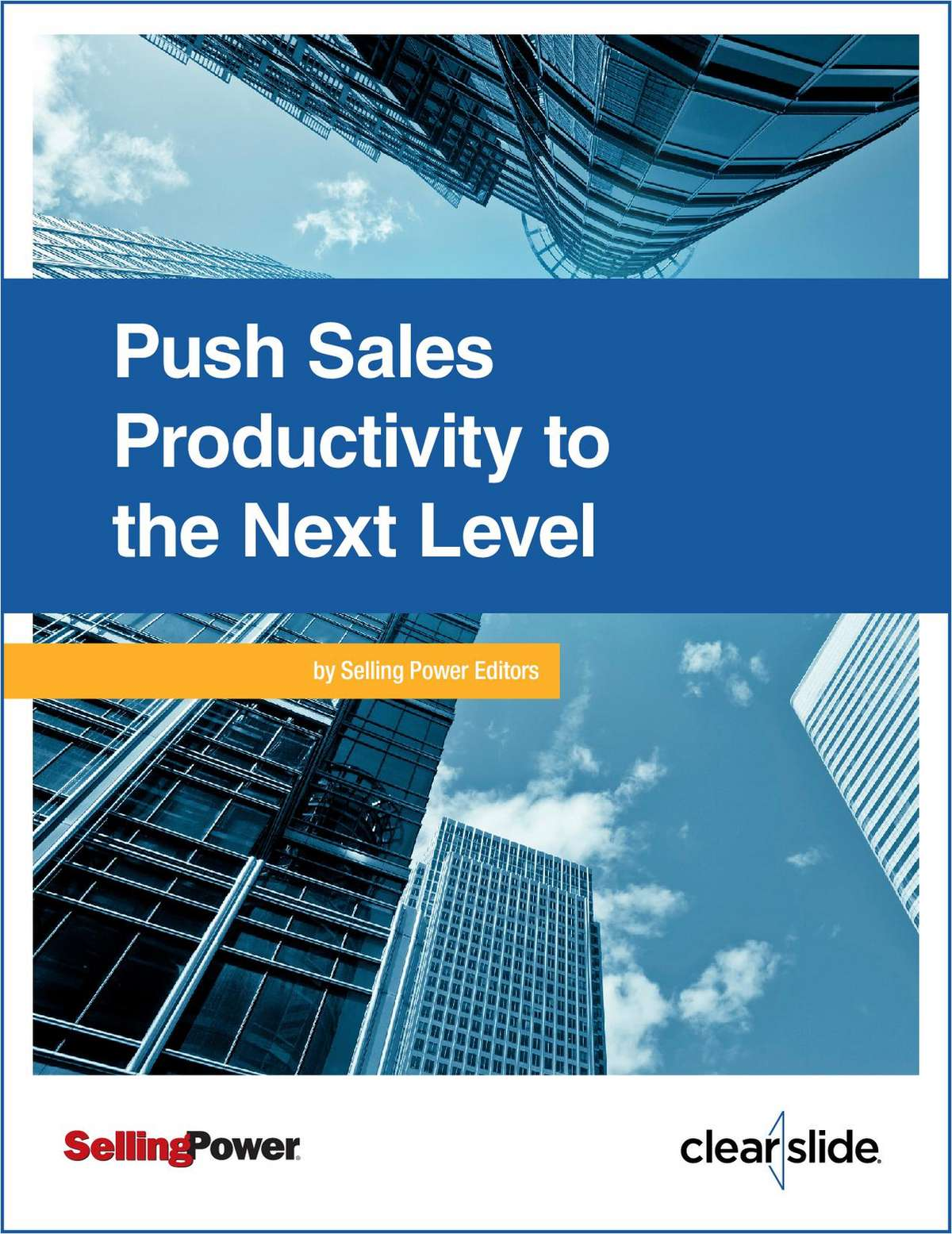 Push Sales Productivity to the Next Level