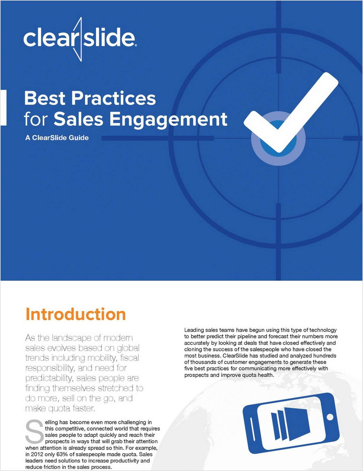 Best Practices for Sales Engagement