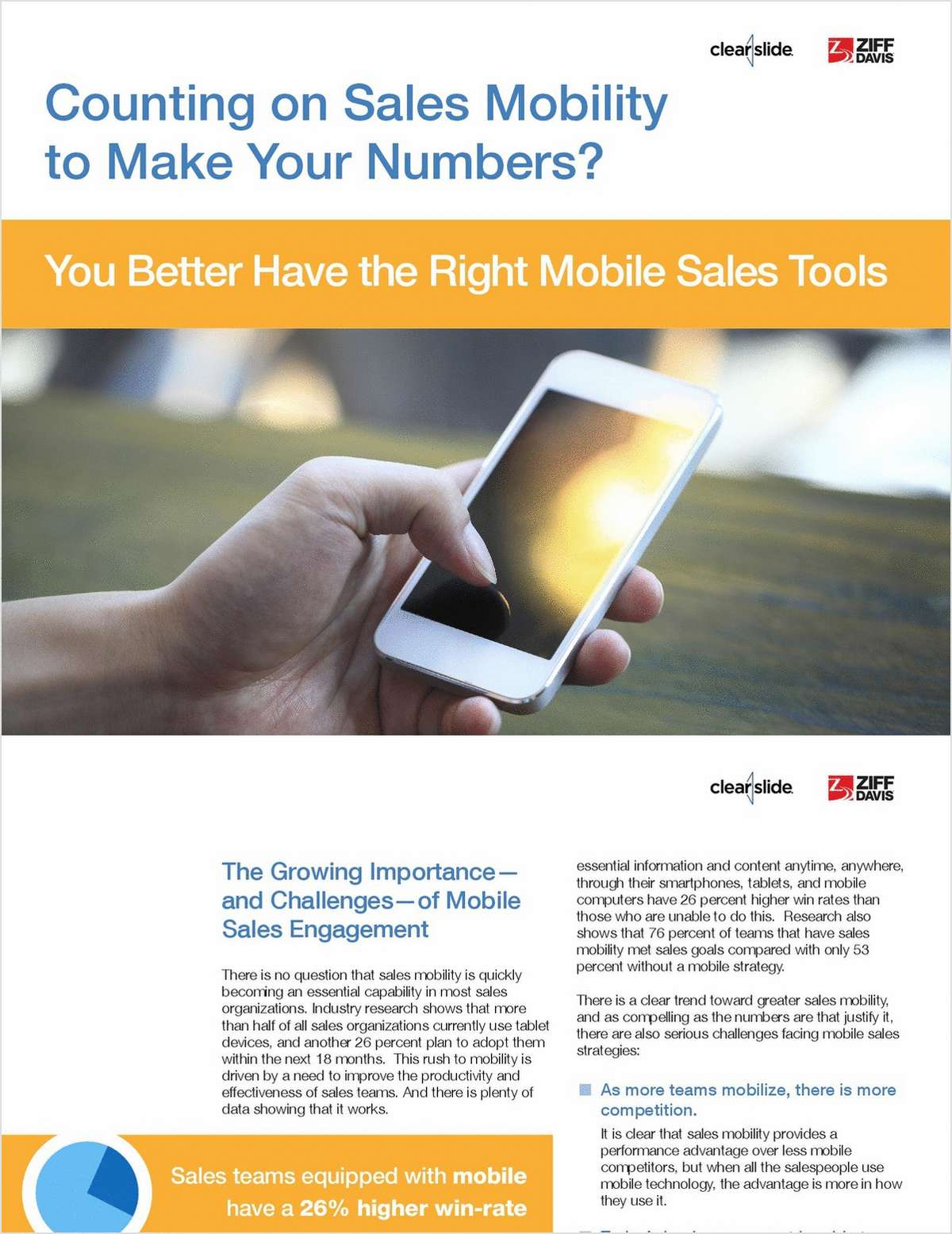 How The Right Mobile Sales Tool Can Help You Make Your Numbers