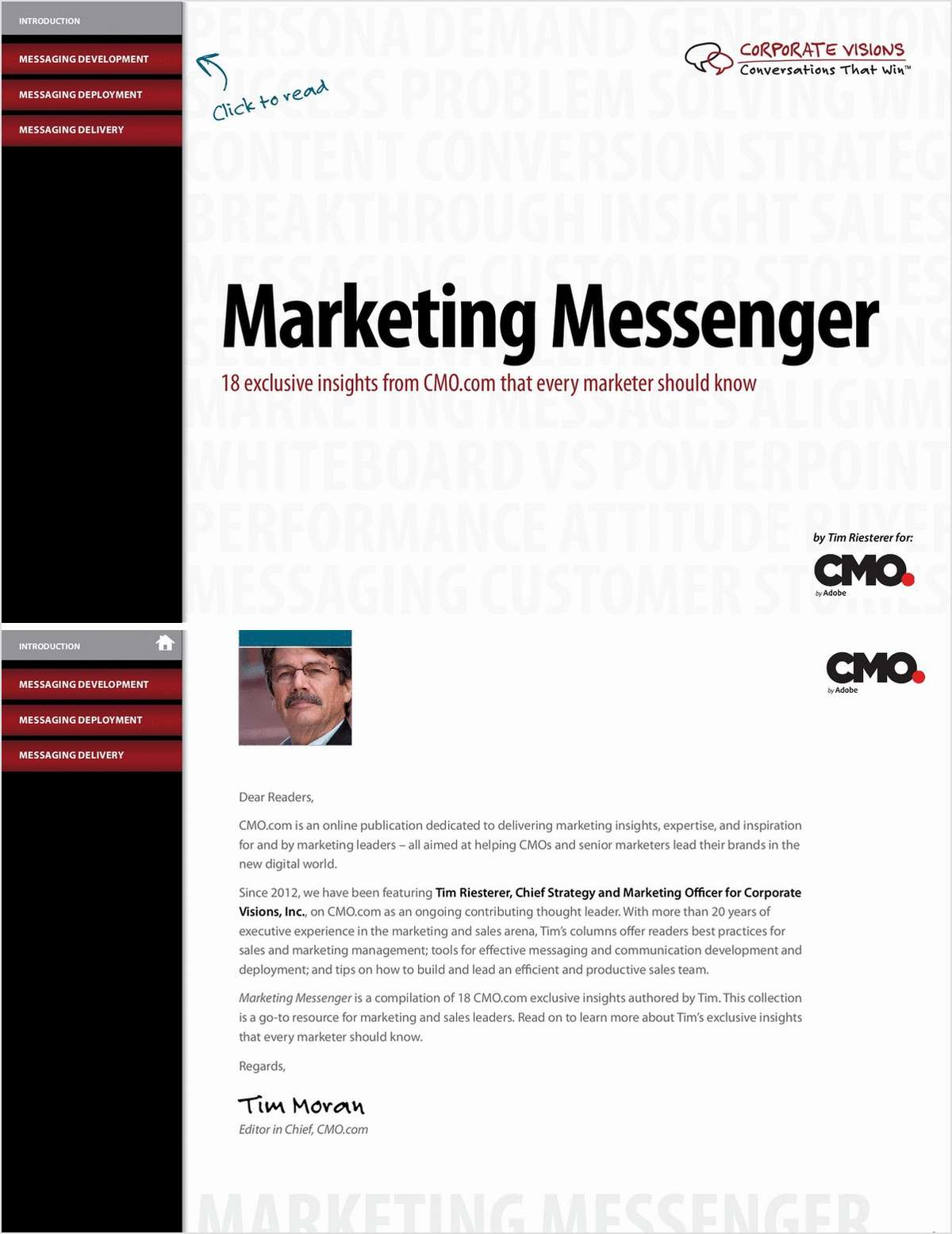 Marketing Messenger: 18 Exclusive Insights From CMO.com That Every Marketer Should Know