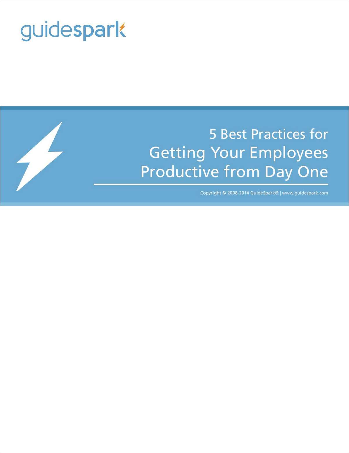 5 Best Practices for Getting Your Employees Productive from Day One