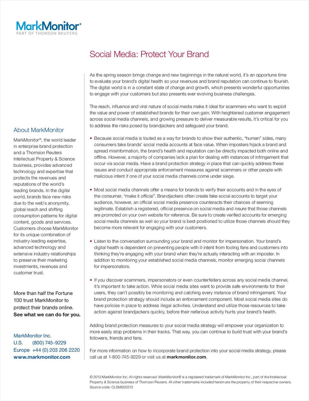 Key Strategies for Protecting Your Brand in Social Media