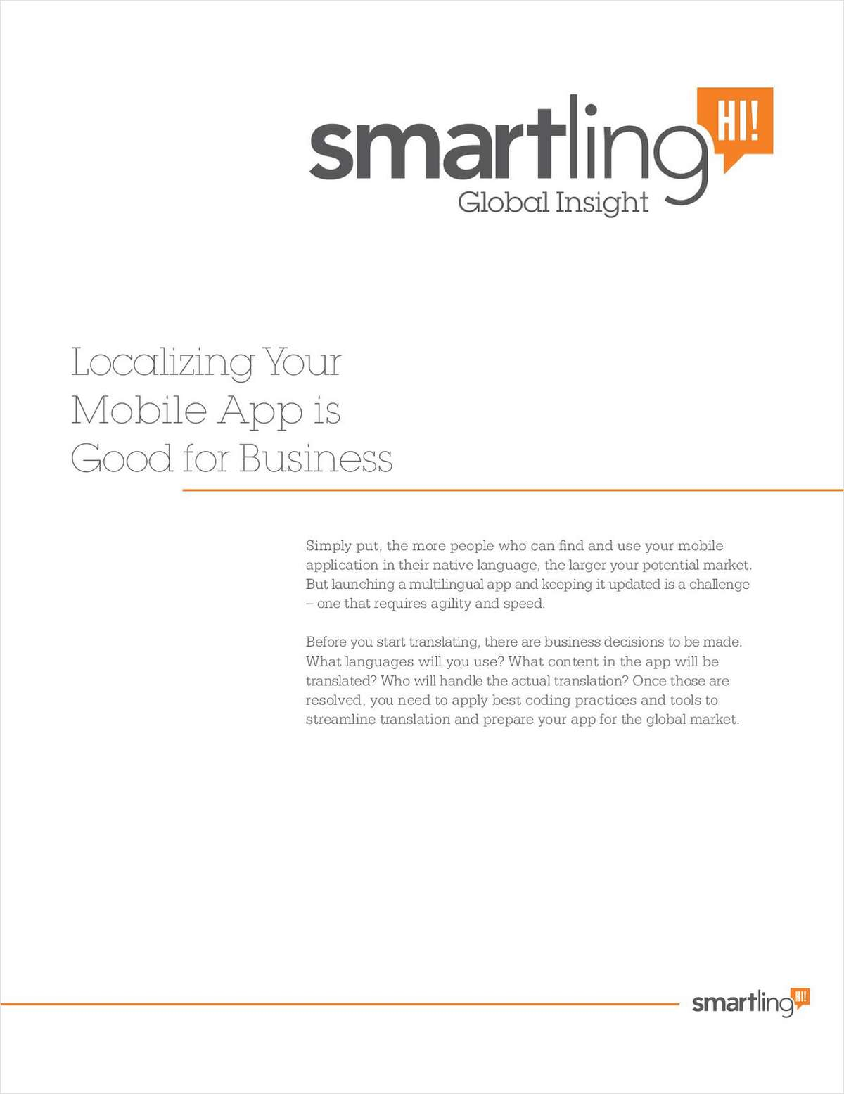 Localizing Your Mobile App Is Good For Business