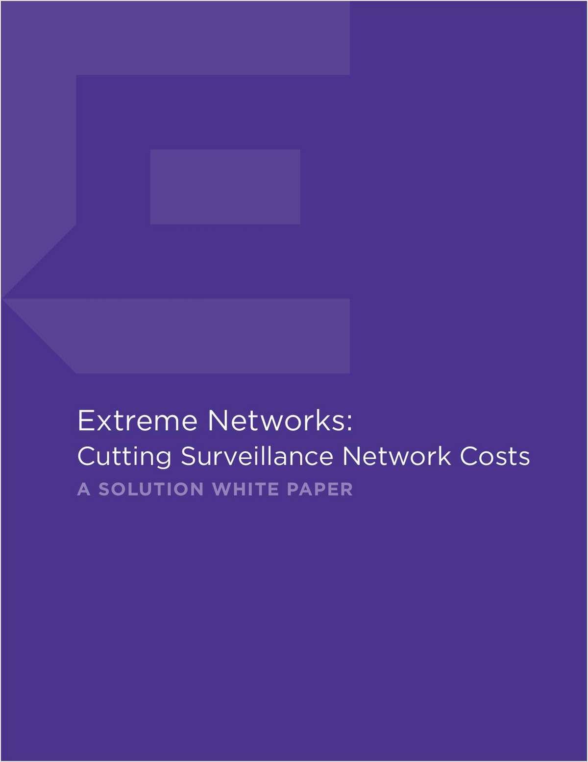 Cutting Surveillance Network Costs