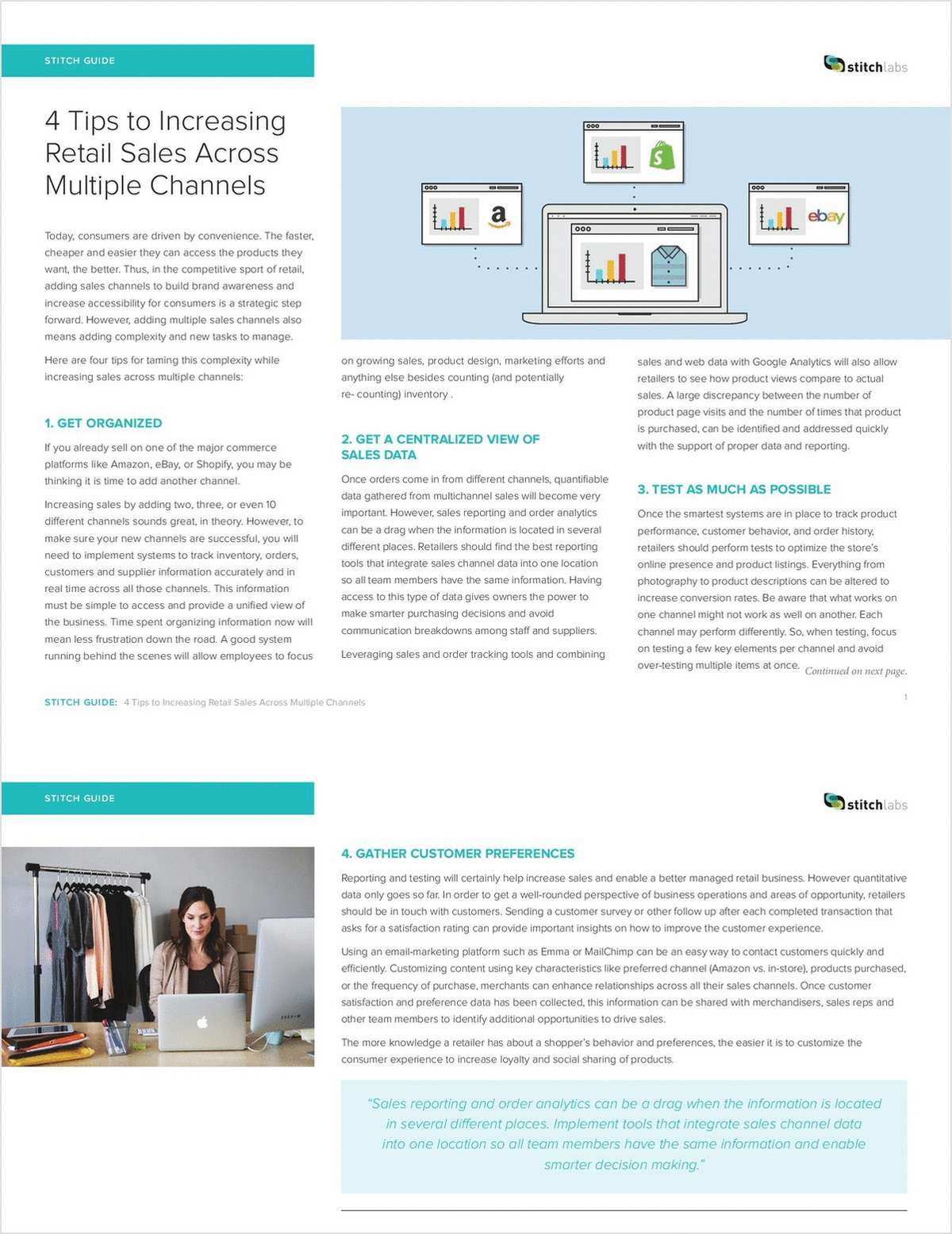 4 Tips to Increasing Retail Sales Across Multiple Channels