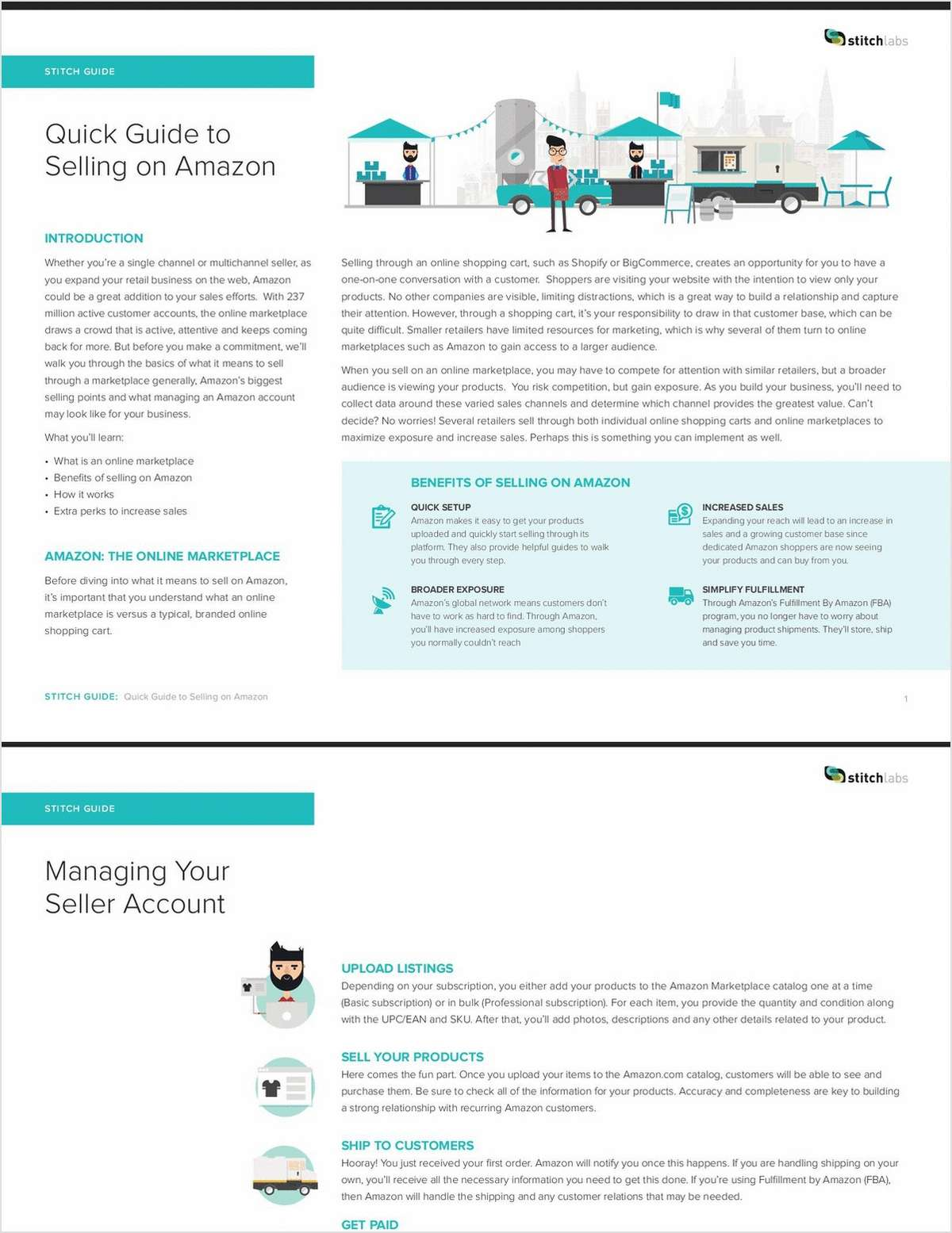 Quick Guide to Selling on Amazon