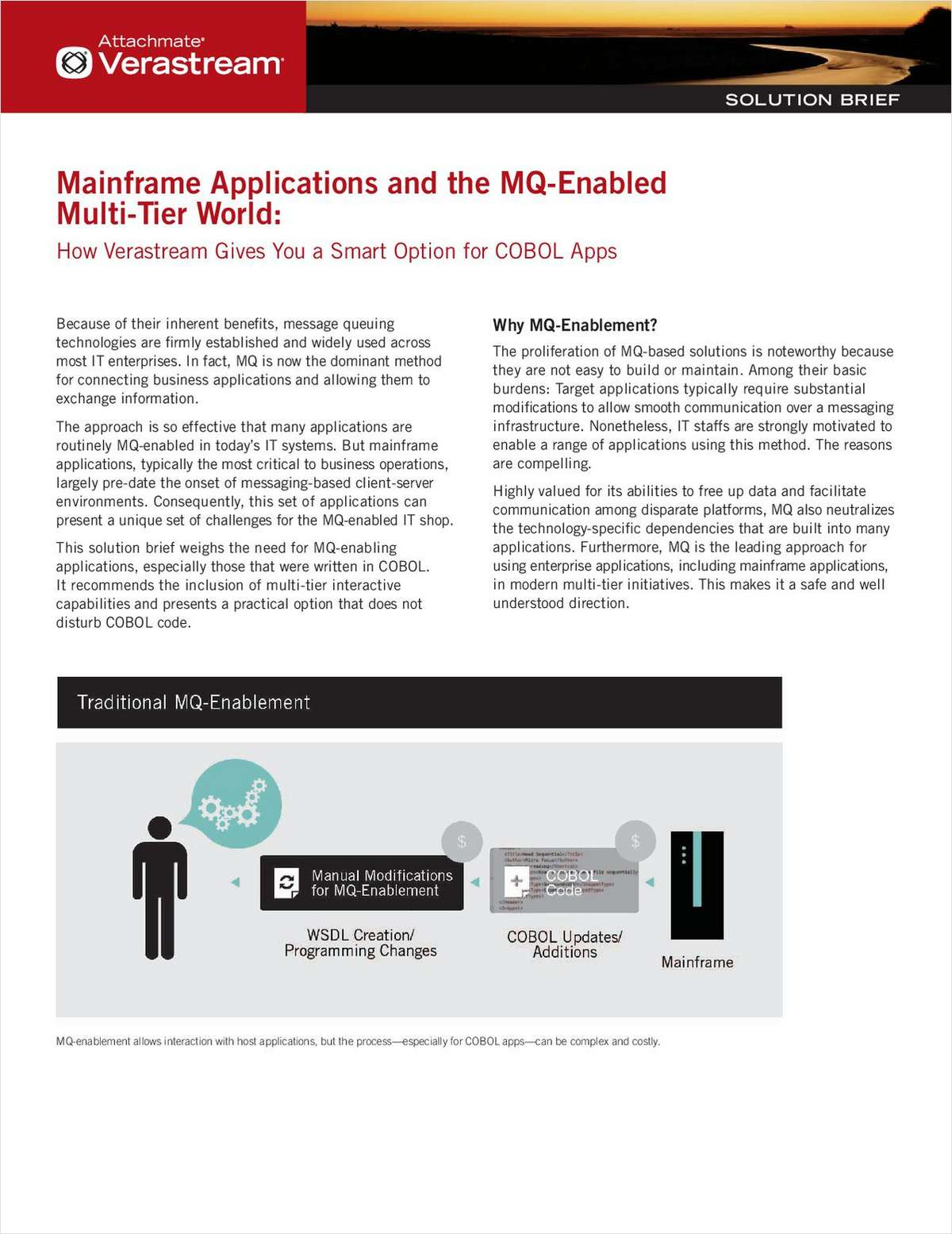 Mainframe Applications and the MQ-Enabled Multi-Tier World