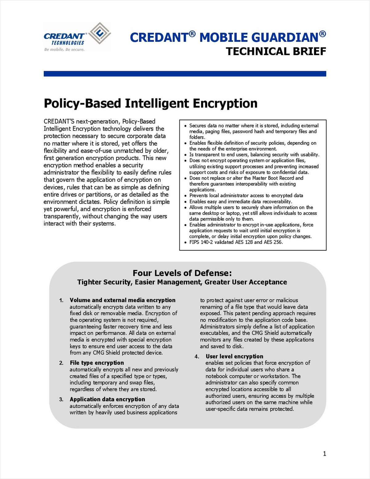 Secure Corporate Data with Policy-Based Intelligent Encryption