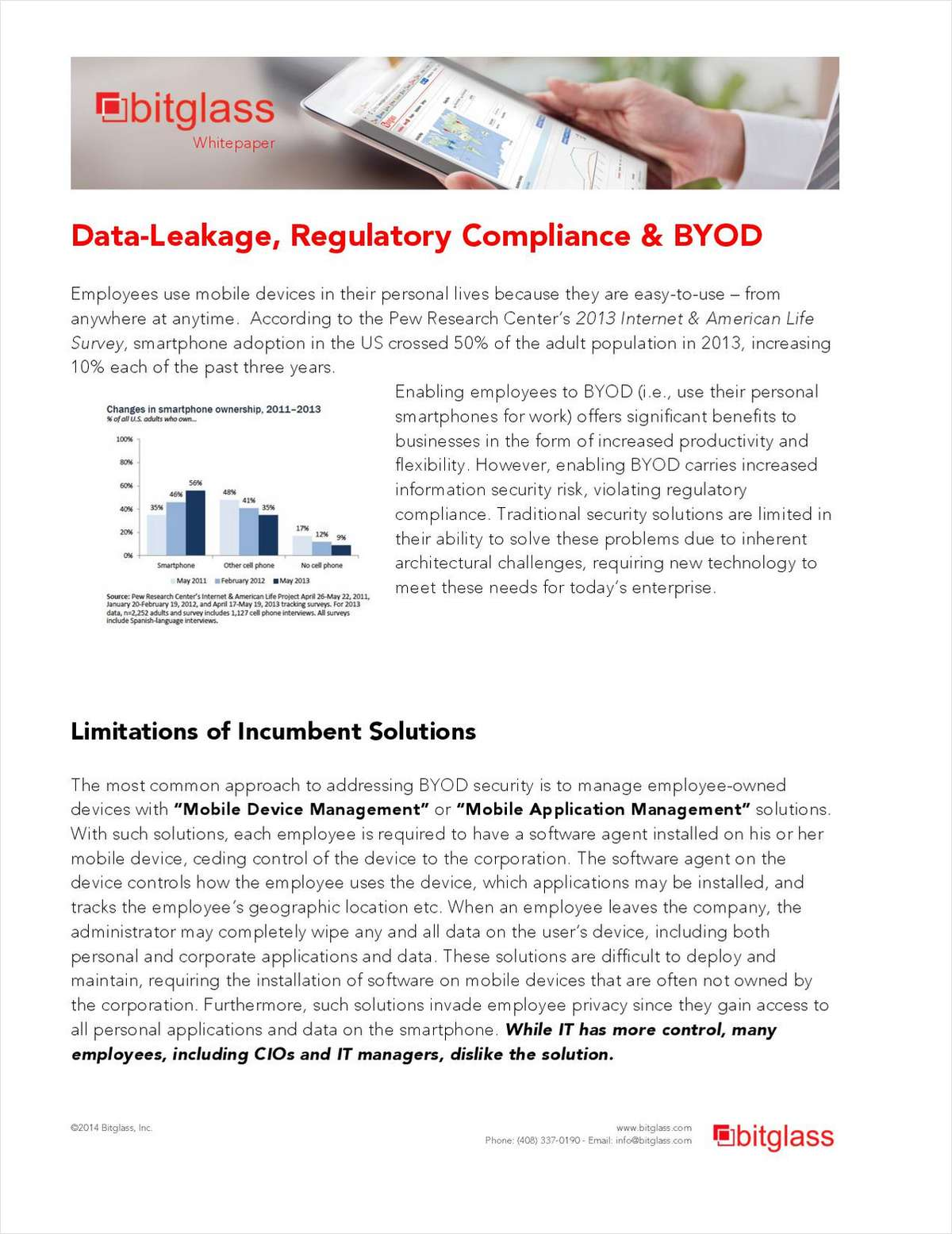 Data-Leakage, Regulatory Compliance & BYOD