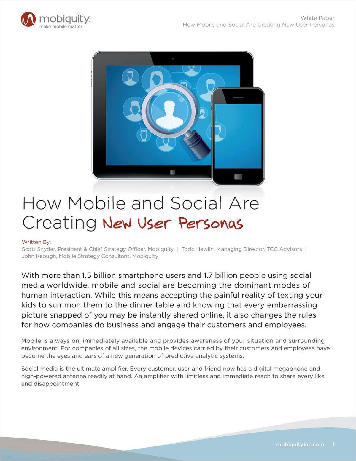 BYOP: How Mobile and Social Are Creating New User Personas