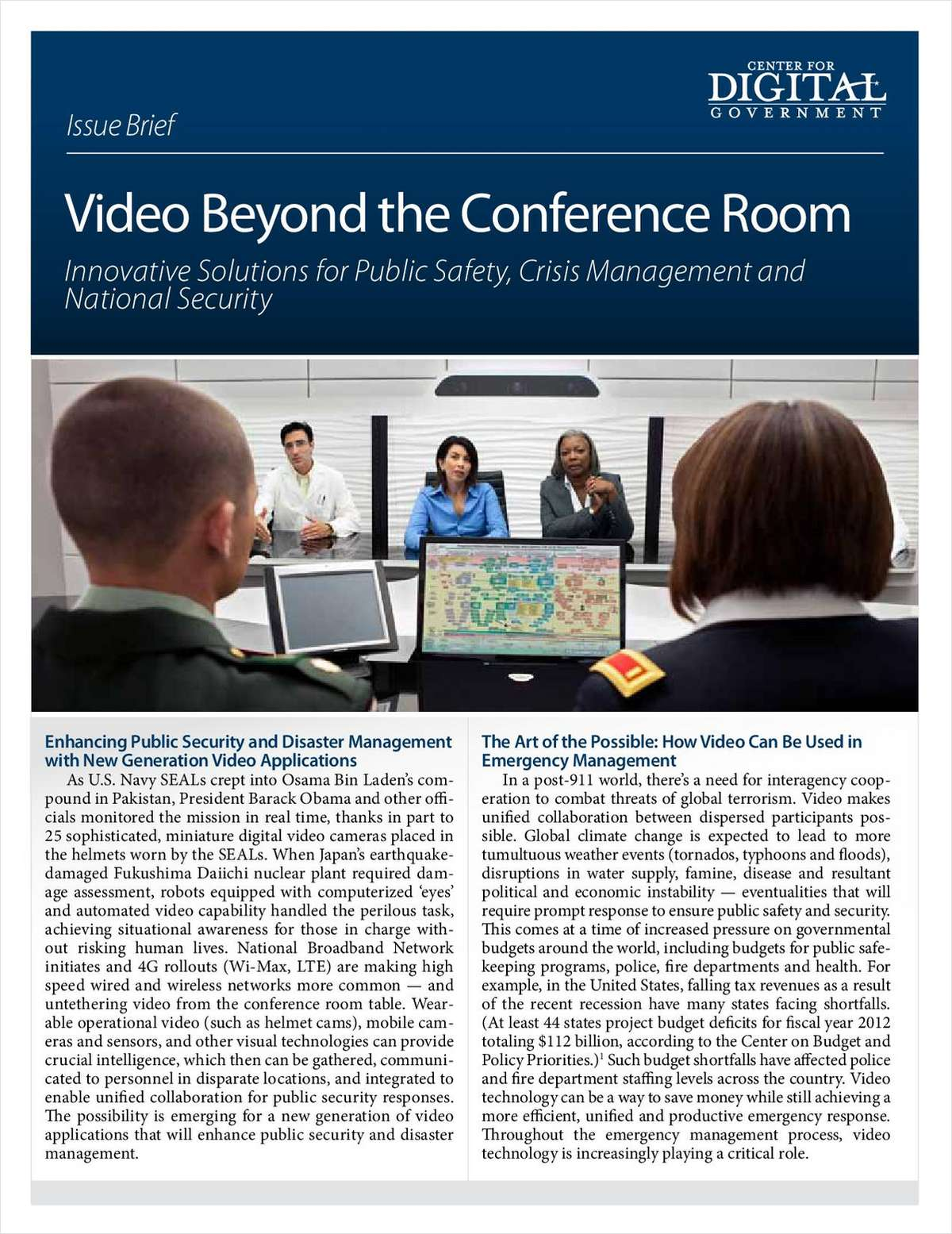 Video Beyond the Conference Room
