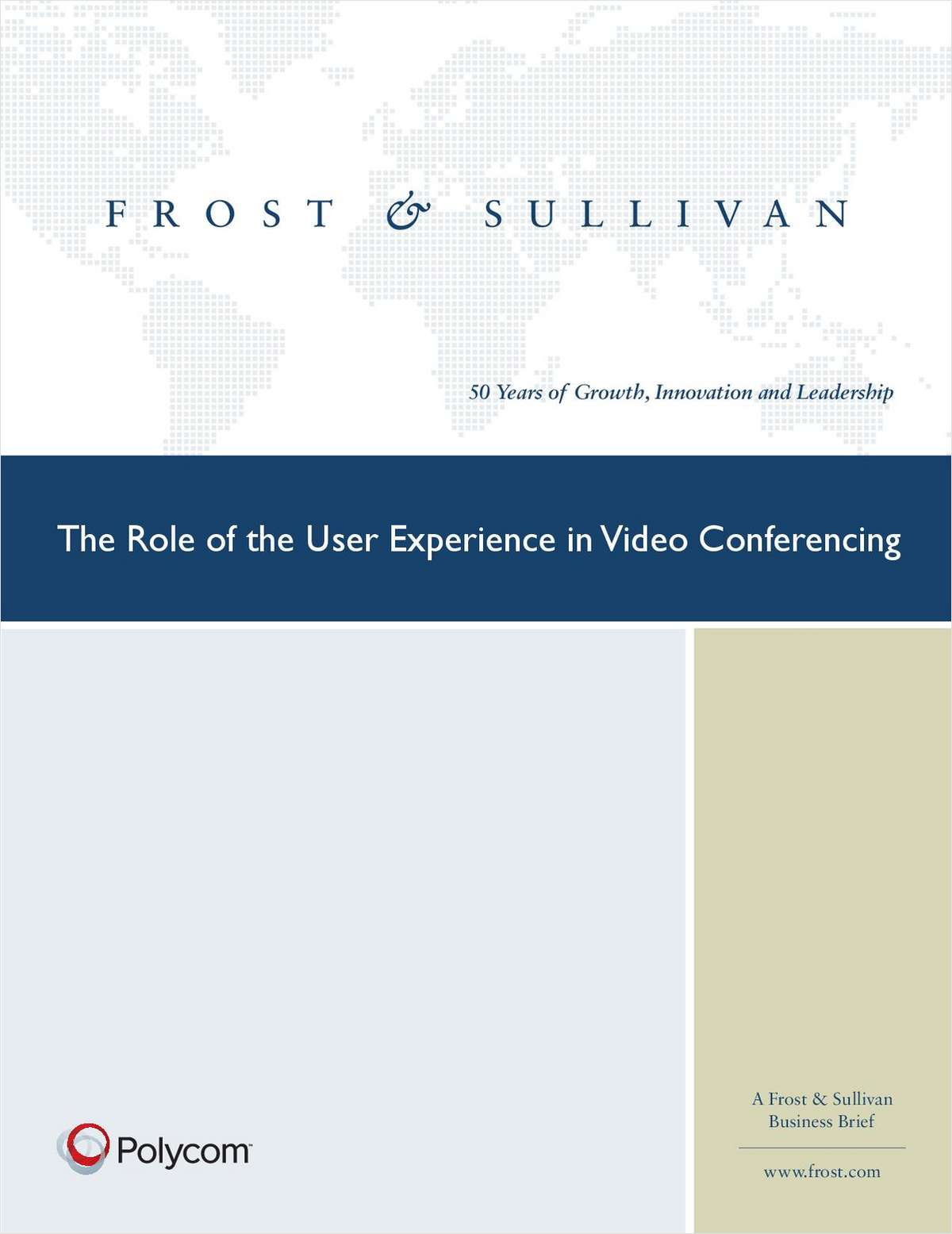 The Role of the User Experience in Video Conferencing