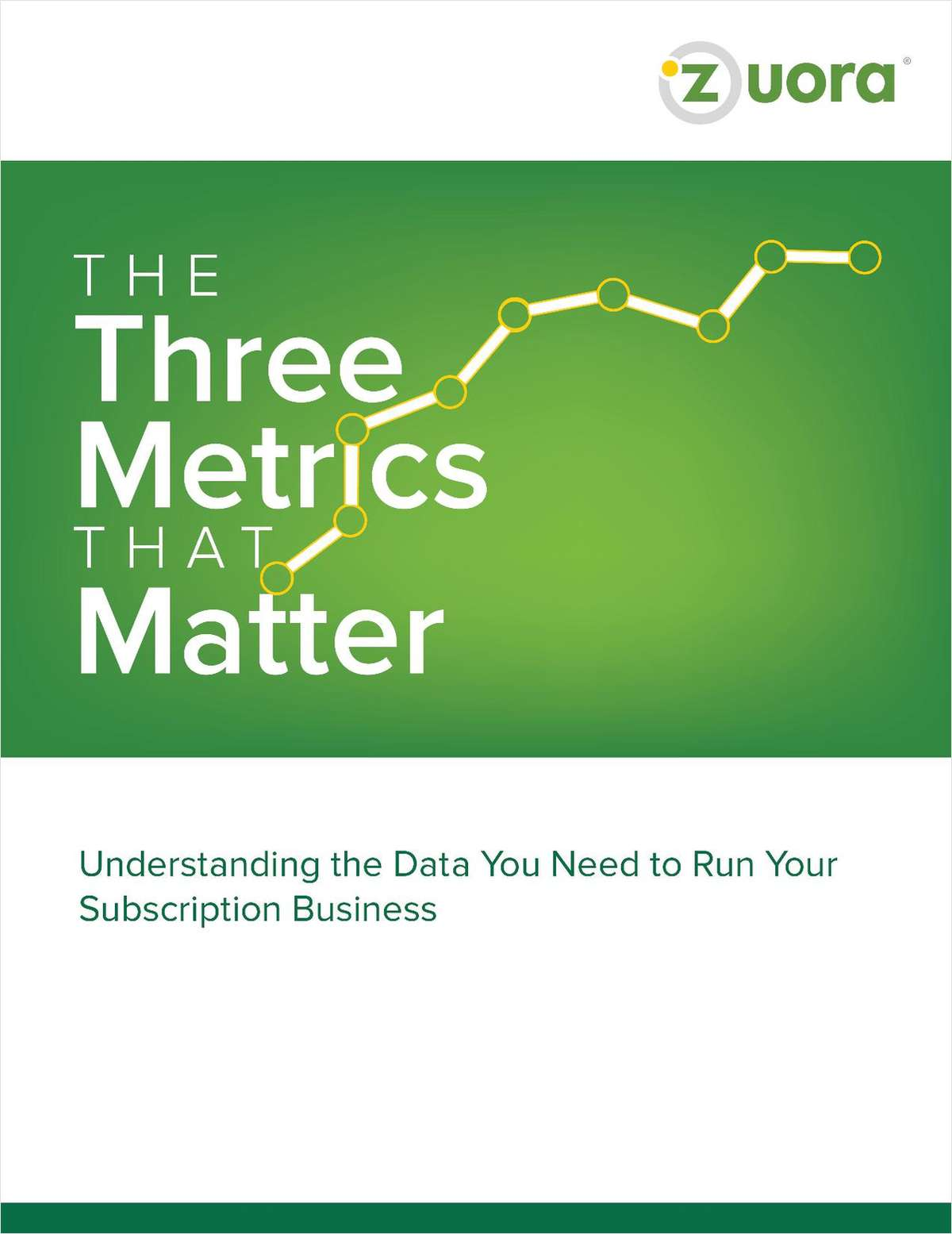 The 3 Metrics That Matter: Understanding the Data You Need to Run Your Subscription Business