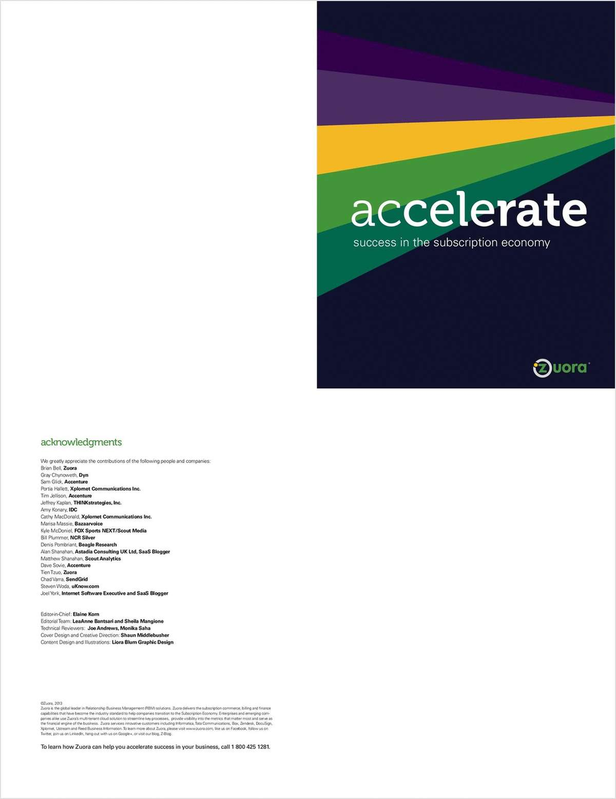 Accelerate Success in the Subscription Economy