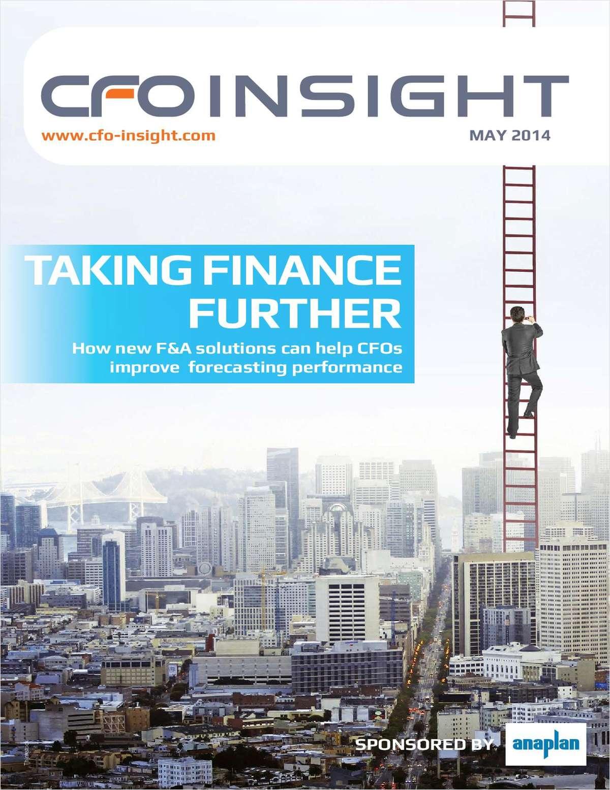 Taking Finance Further