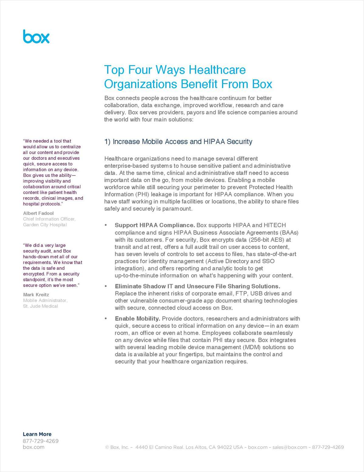 Top Four Ways Healthcare Organizations Can Improve Their Collaborative Workplace