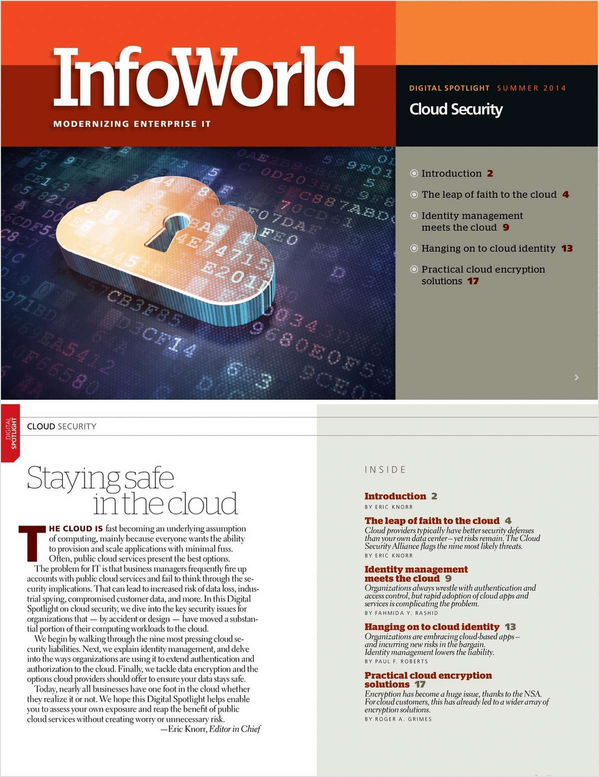 Spotlight on Cloud Security