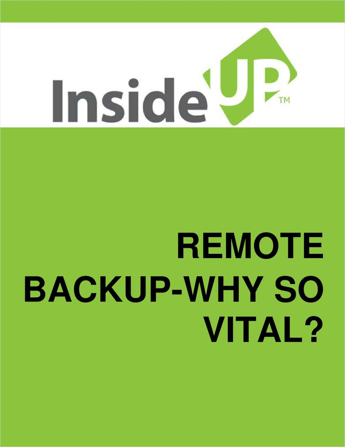 Online Data Backup an Essential and Efficient Solution to Any Business