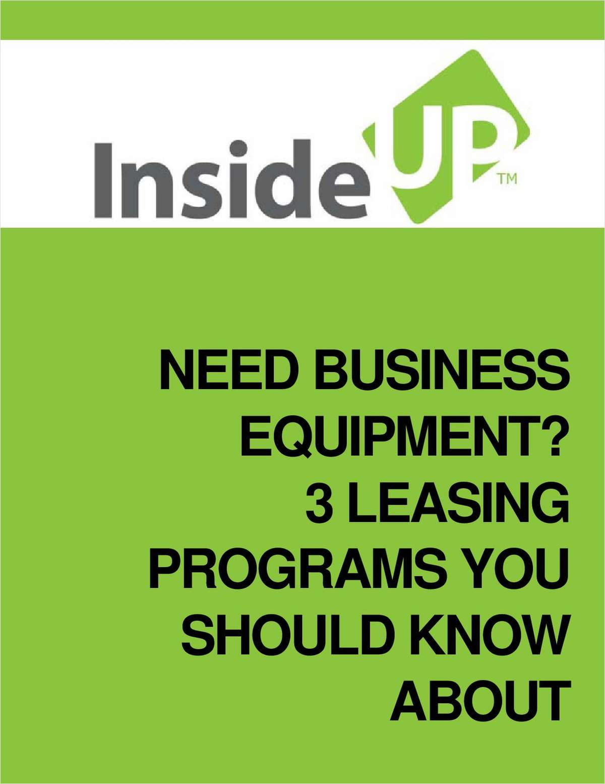 Need Business Equipment? 3 Leasing Programs You Should Know About