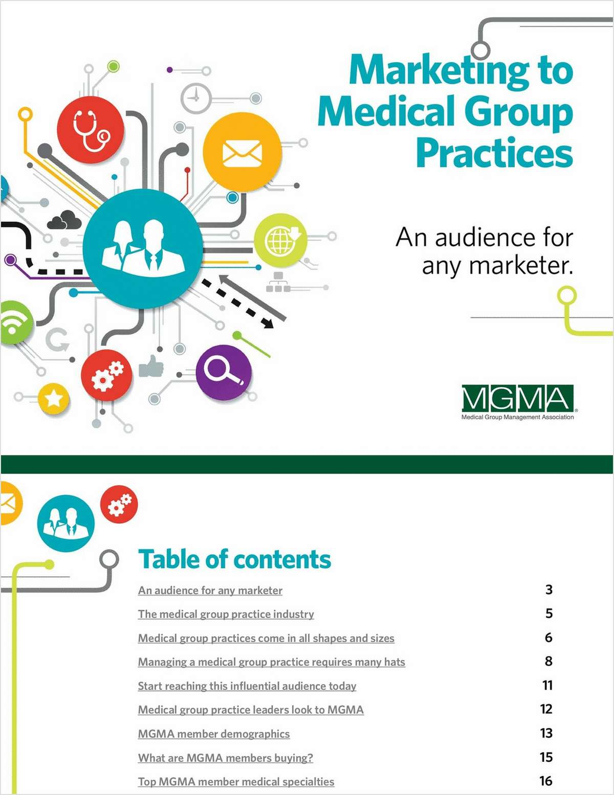 Marketing to Medical Group Practices -- An Audience for Any Marketer