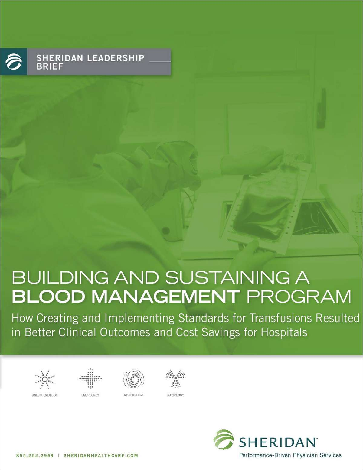 Building and Sustaining a Blood Management Program