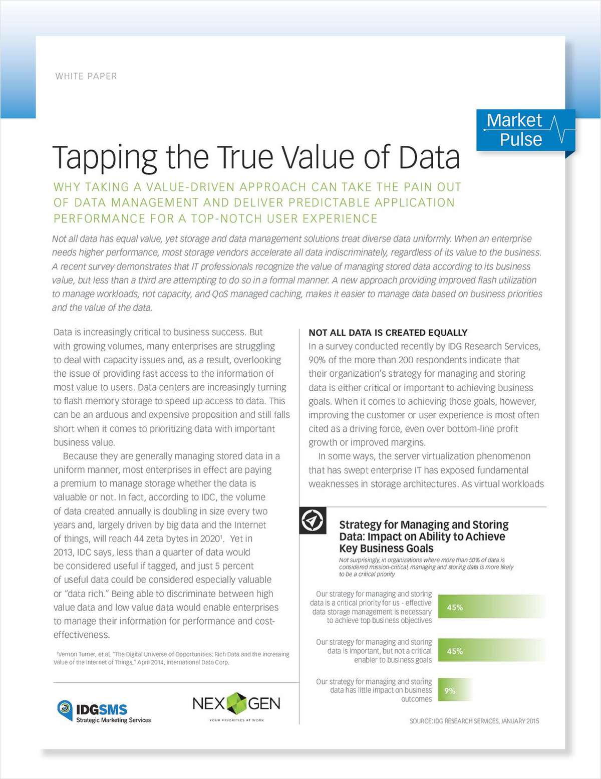 Tapping the True Value of Data