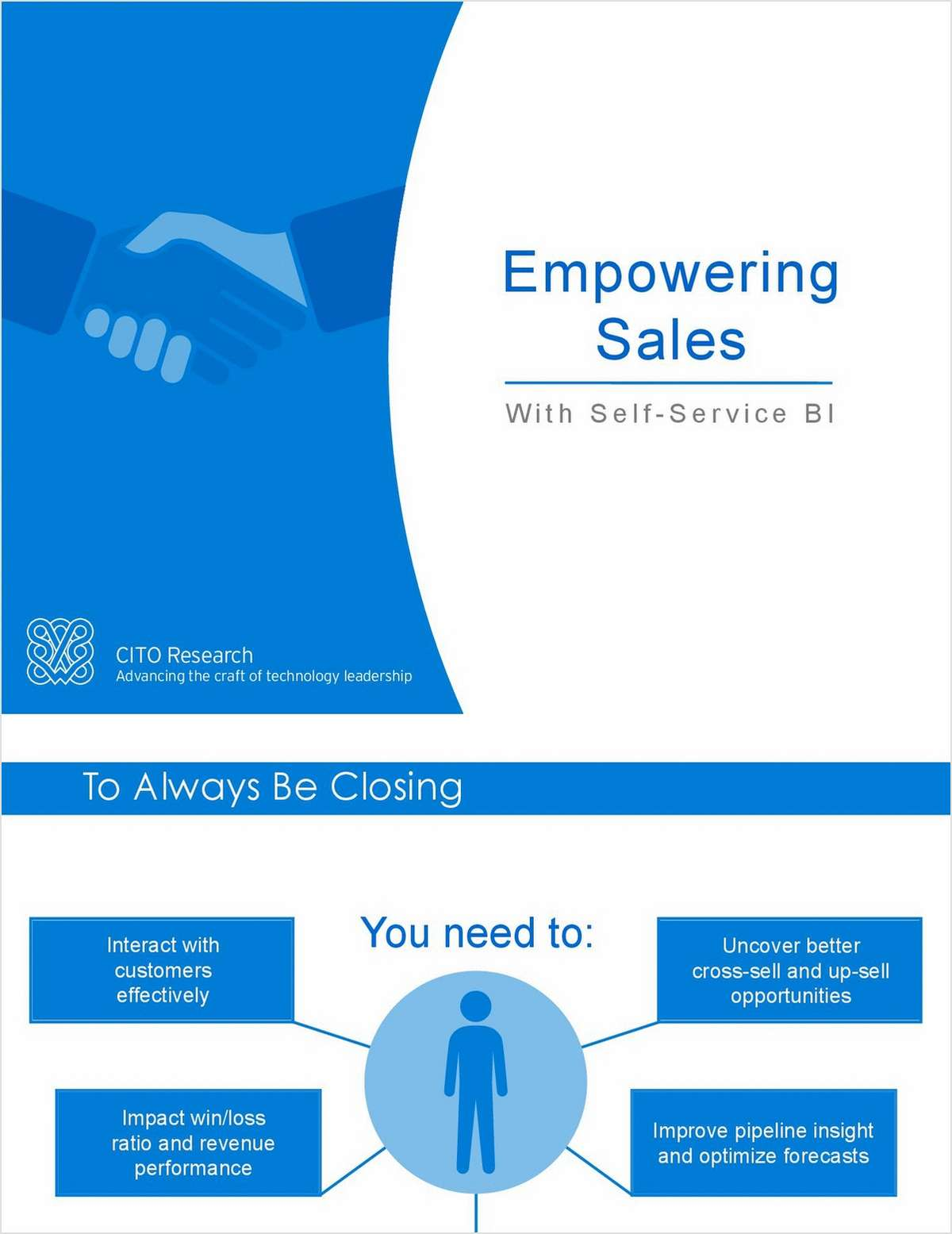 CITO eBook: Empowering Sales with Self Service BI