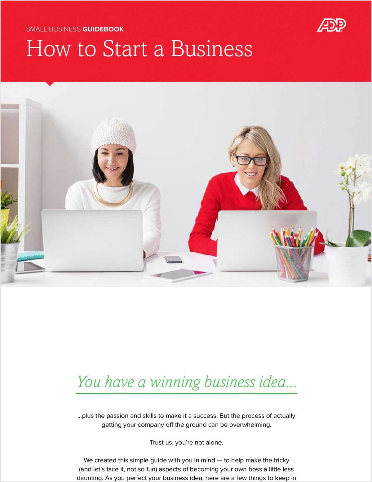 How to Start a Business: Small Business Guidebook