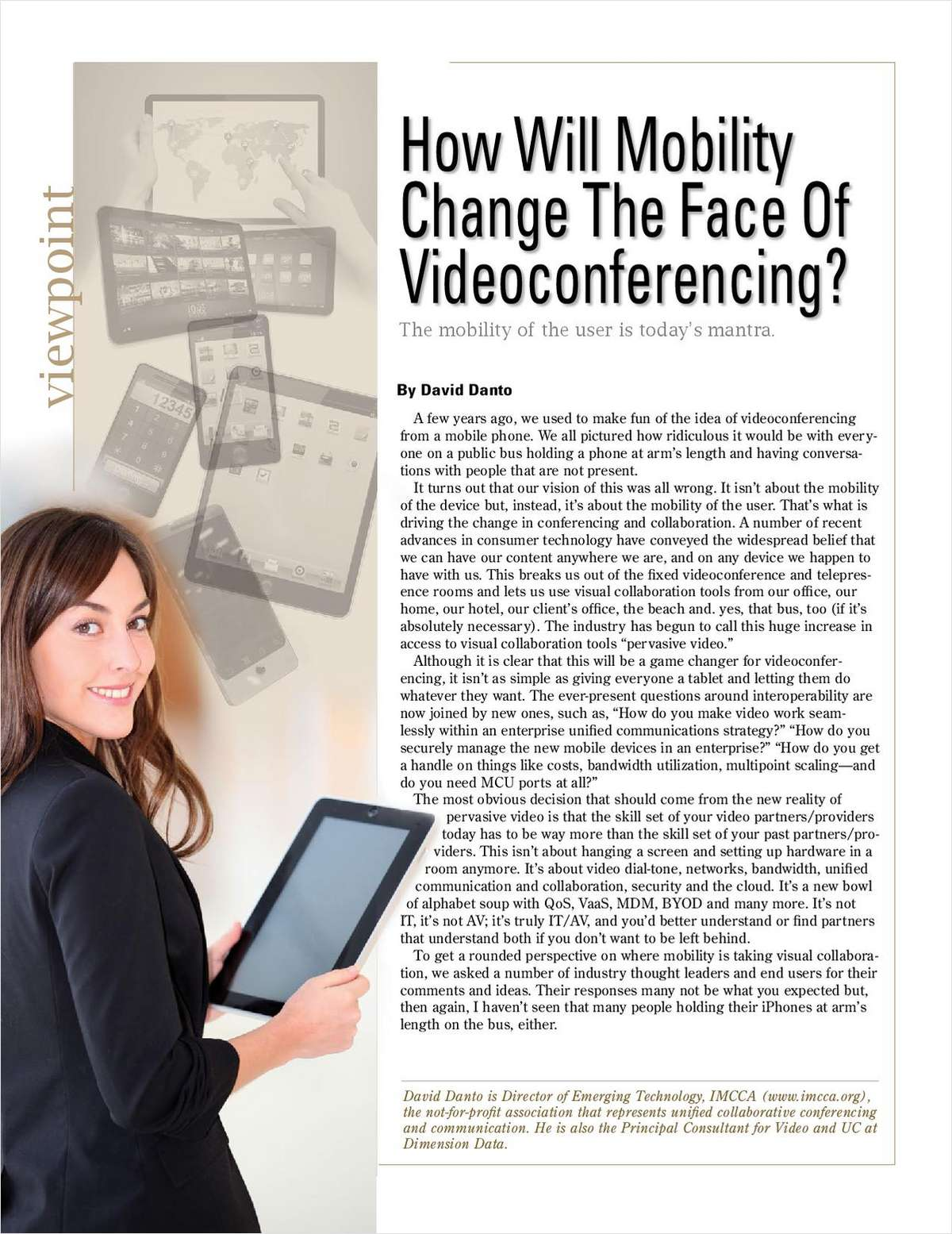 How Will Mobility Change The Face Of Videoconferencing?