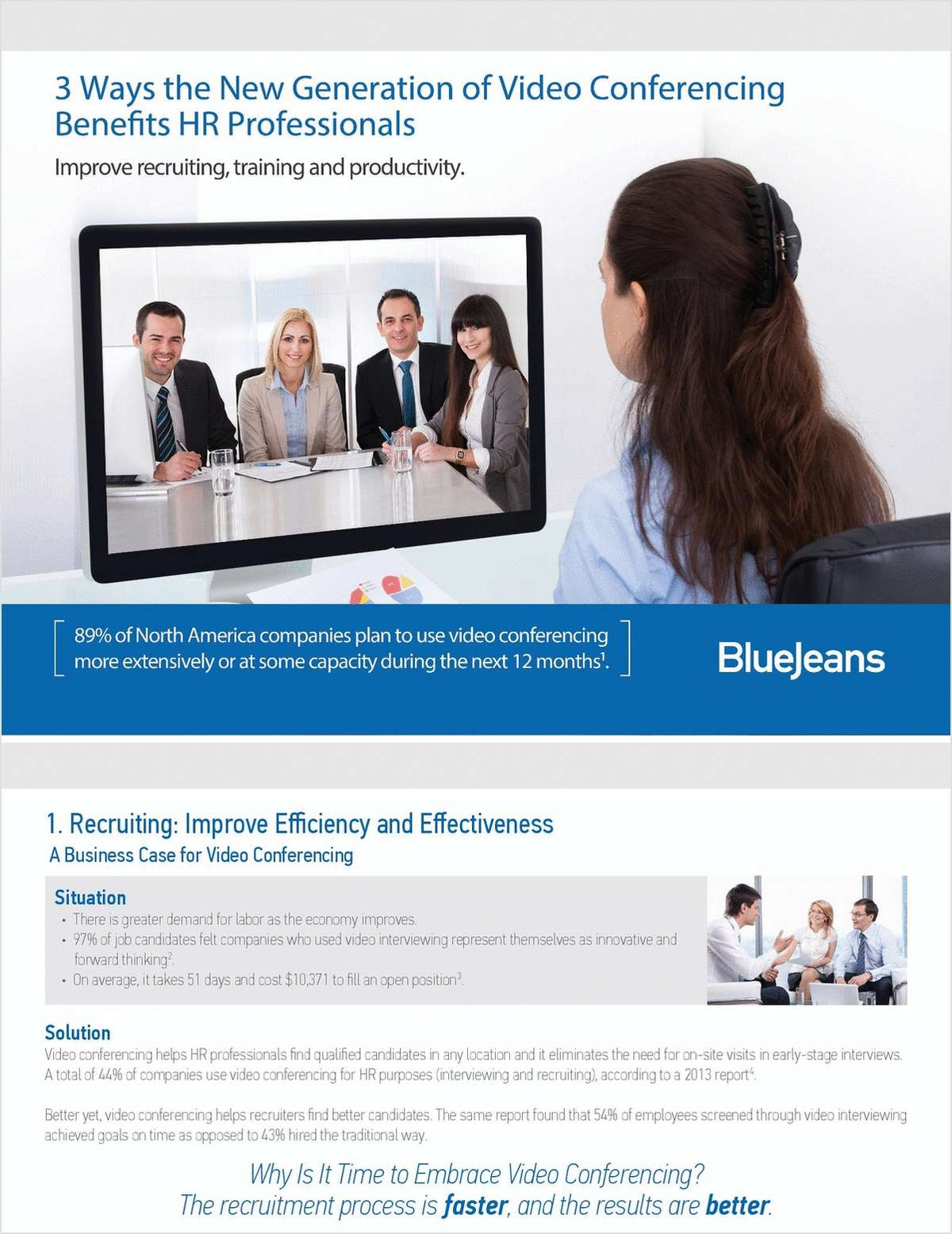 3 Ways the New Generation of Video Conferencing Benefits HR Professionals