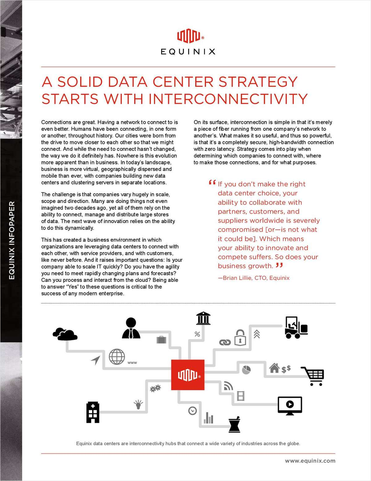 A Solid Data Center Strategy Starts With Interconnectivity