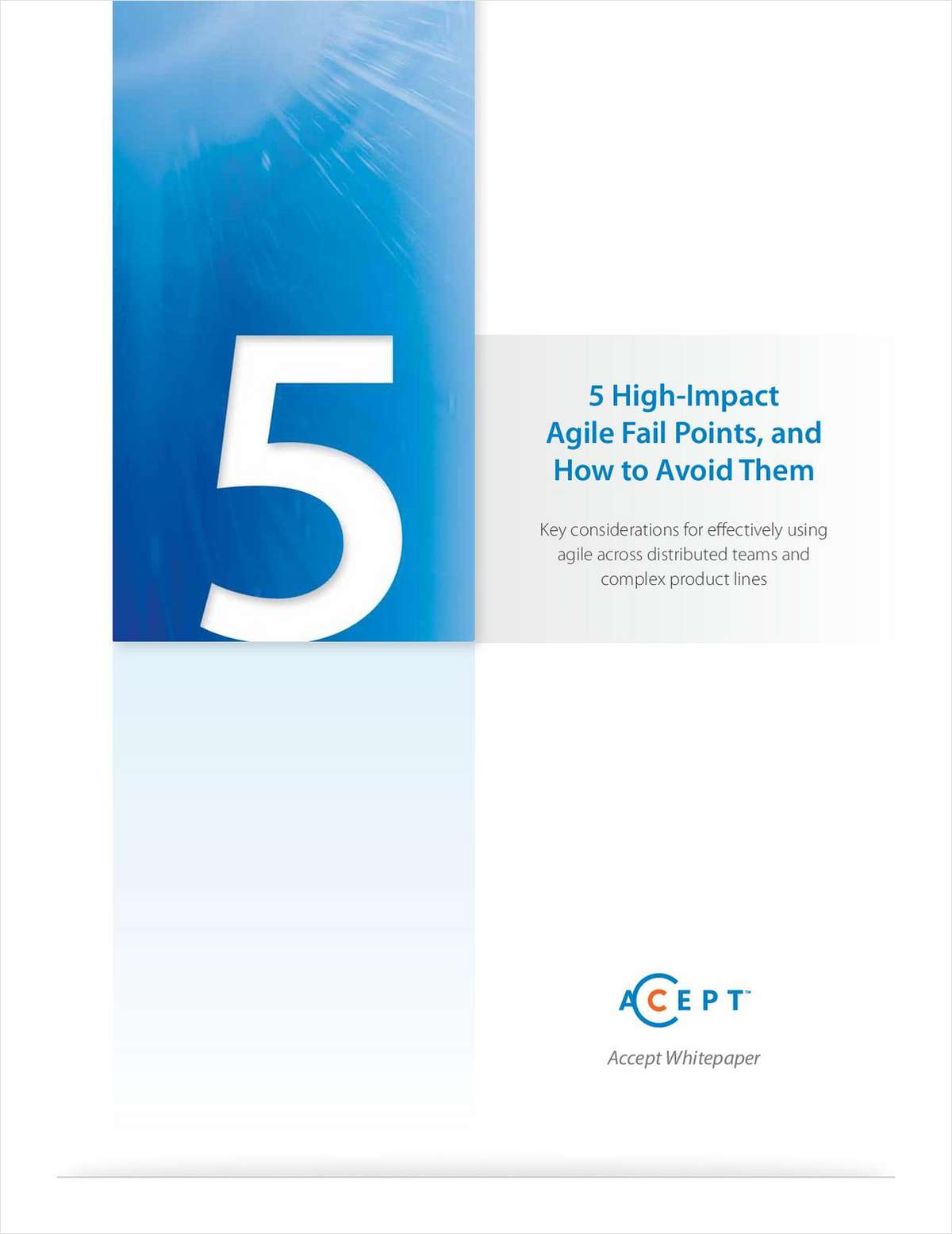 5 High Impact Fail Points, and How to Avoid Them