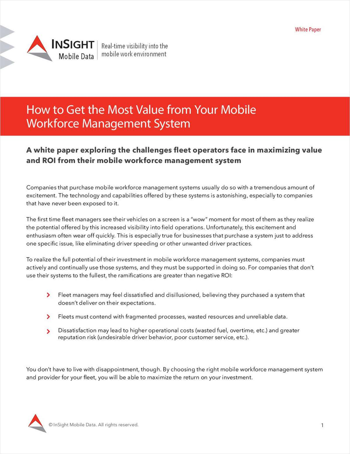 How to Get the Most Value from Your Mobile Workforce Management System