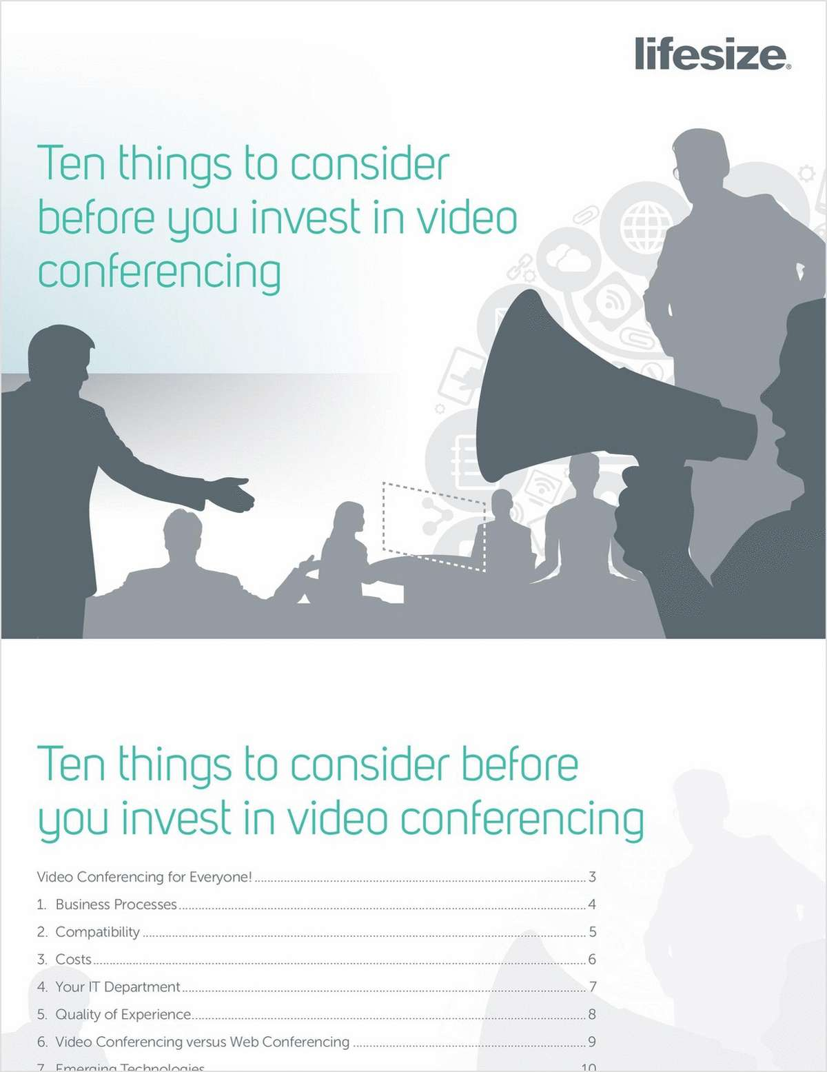 10 Things to Consider Before Investing in Video Conferencing