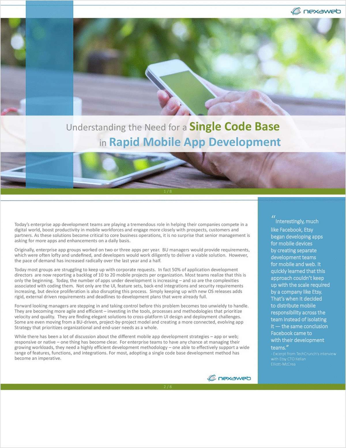 Understanding the Need for a Single Code Base in Mobile App Development