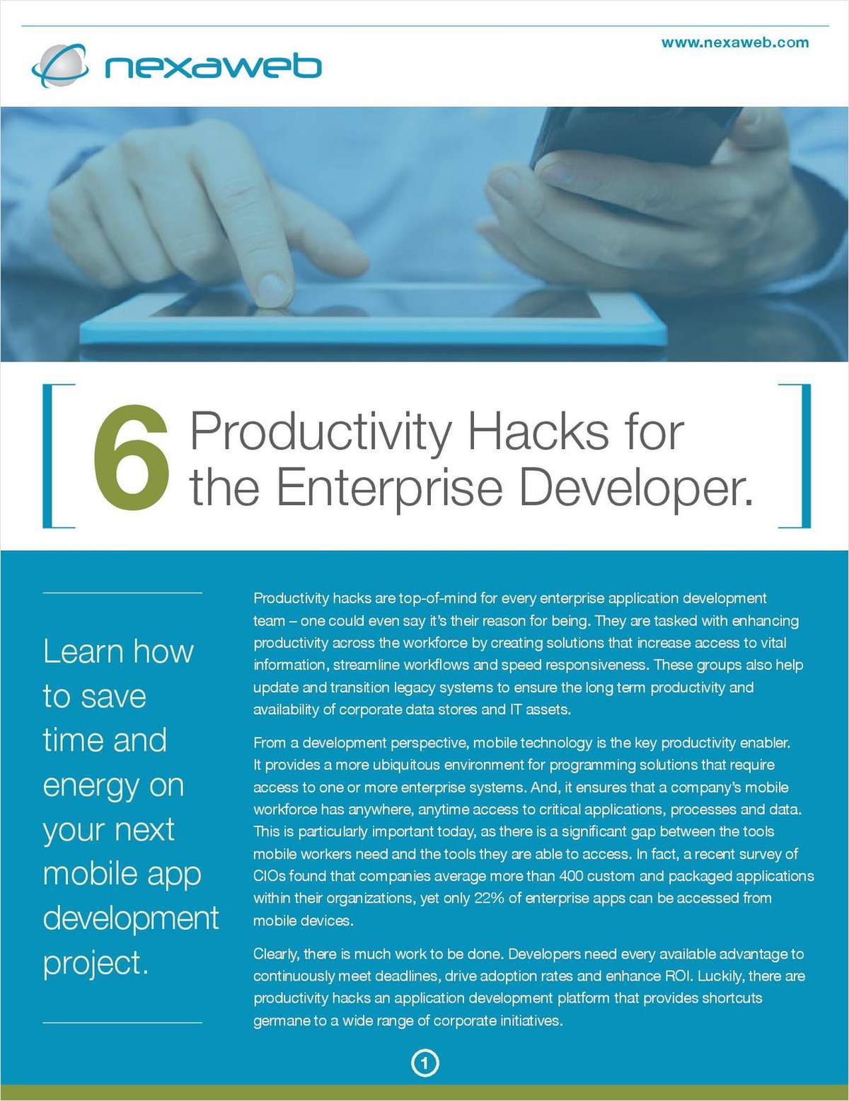 6 Productivity Hacks for Your Application Development Team