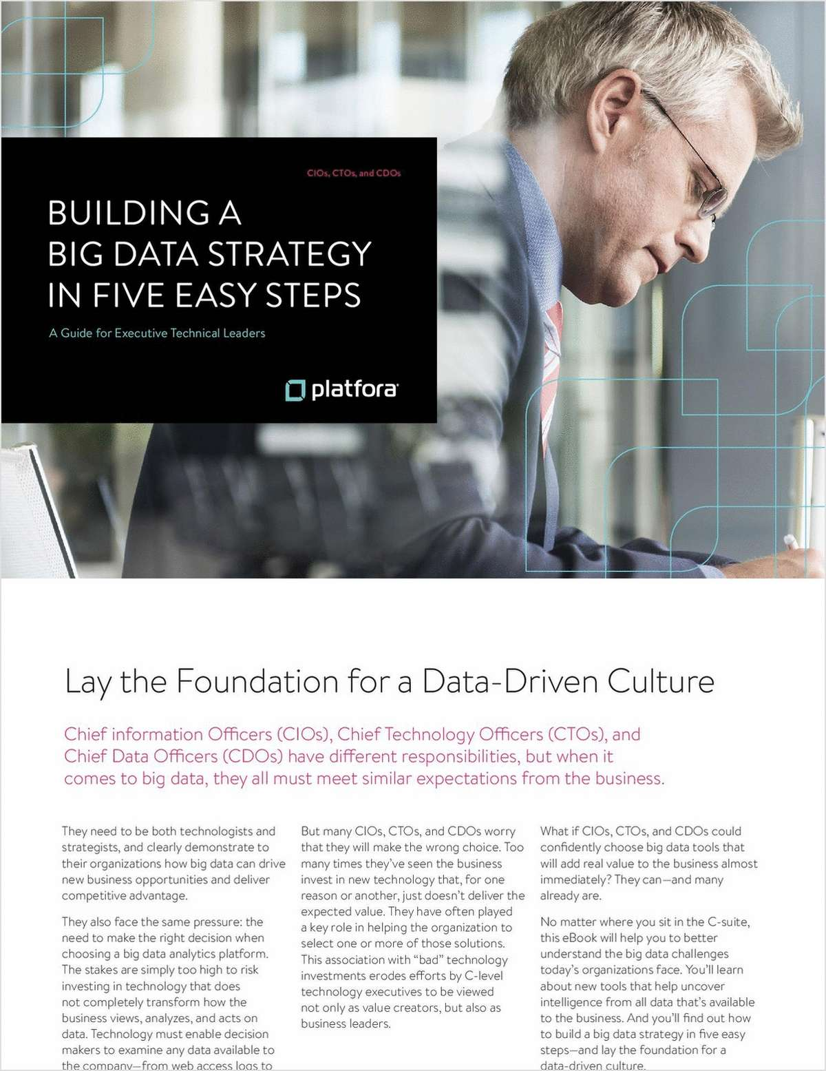 Building a Big Data Strategy in Five Easy Steps