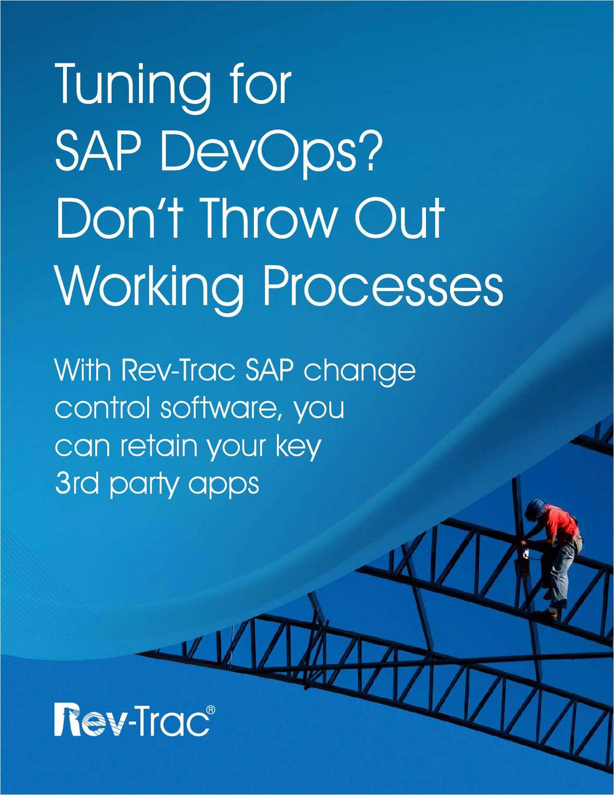 Tuning for SAP DevOps? Don't Throw Out Working Processes