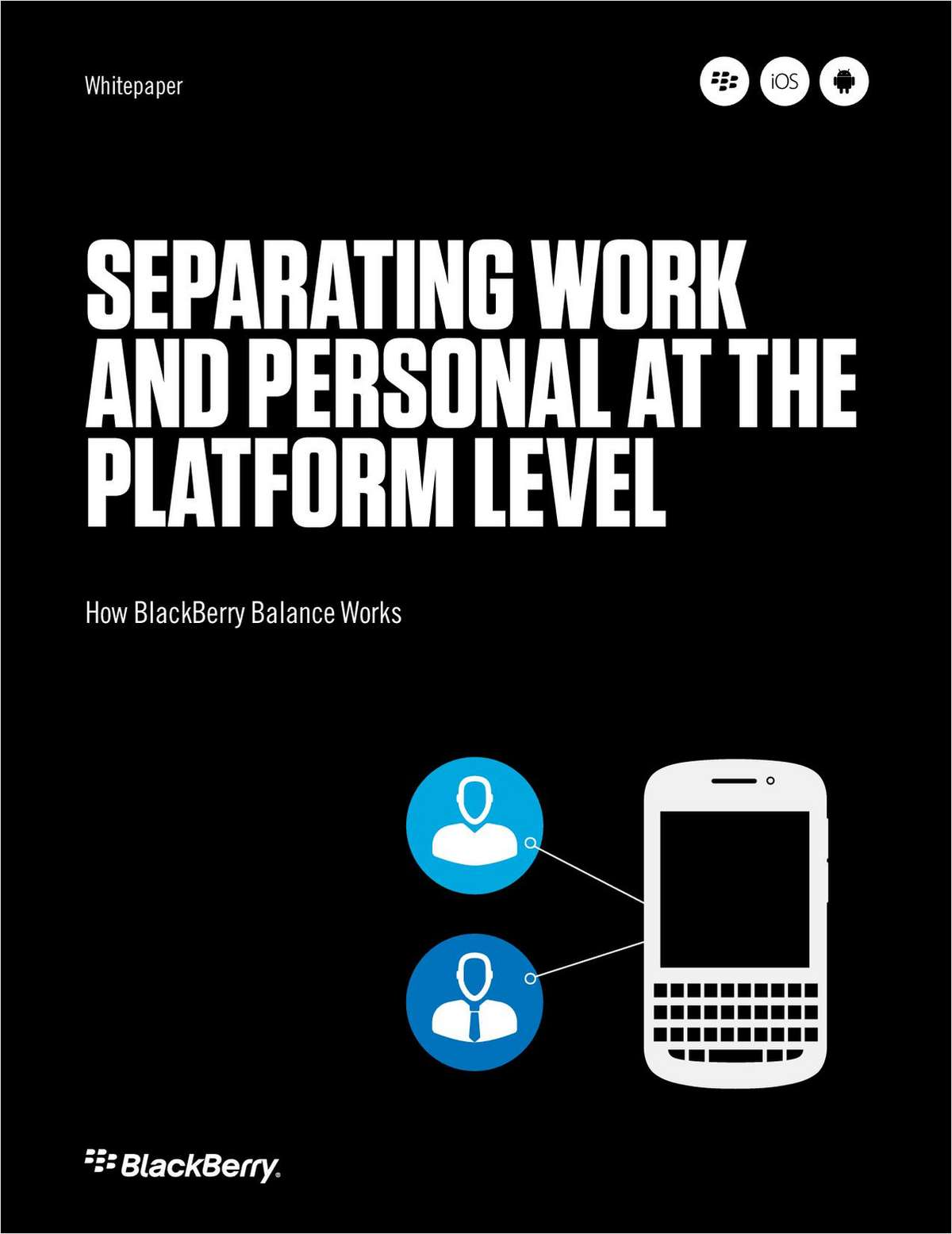 Separating Work and Personal at the Platform Level: How BlackBerry Balance Works