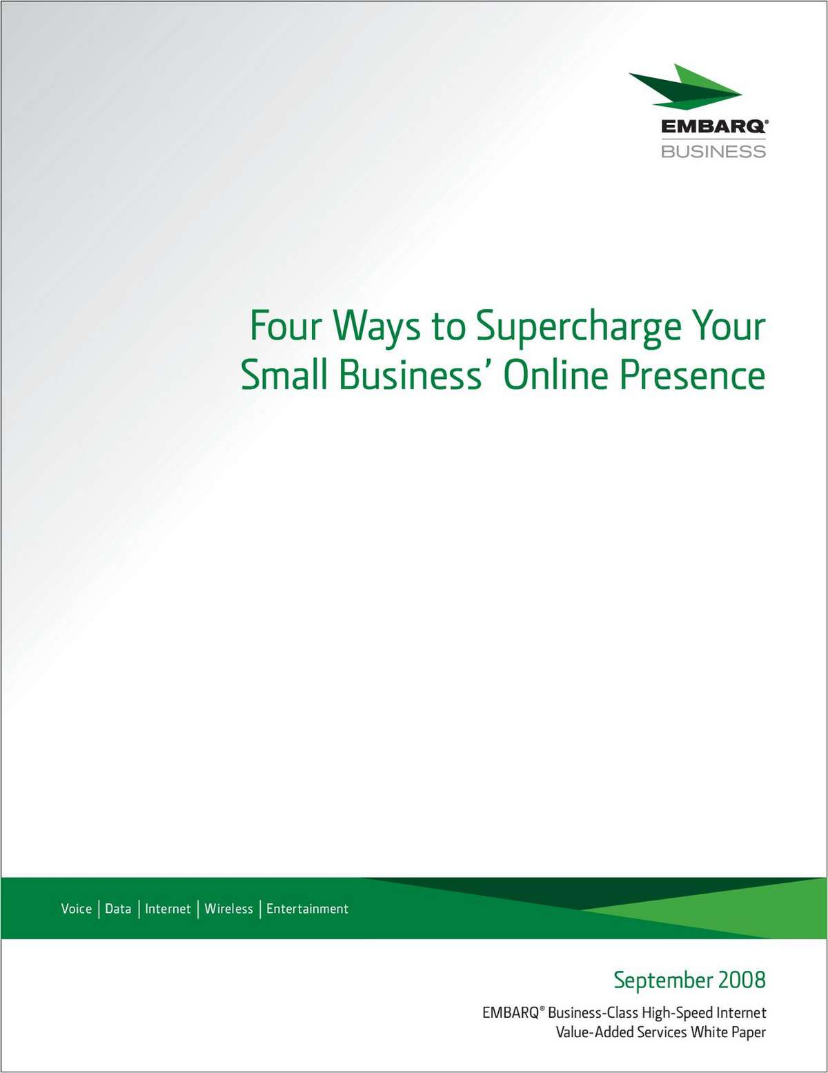 Four Ways to Supercharge Your Small Business' Online Presence
