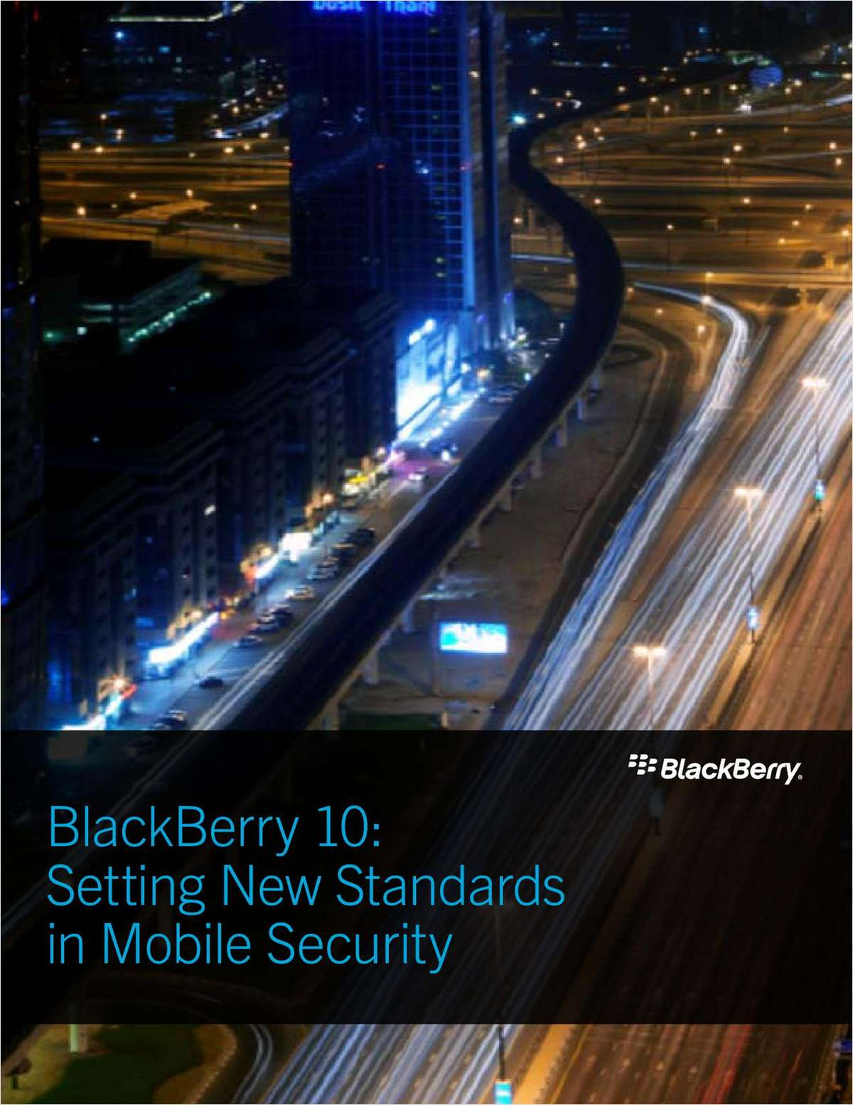 How BlackBerry 10 Sets New Standards in Mobile Security