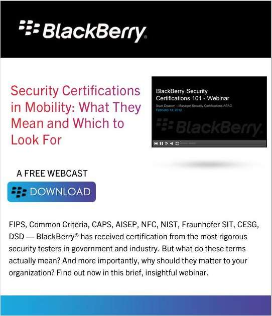 Security Certifications In Mobility What They Mean And Which To