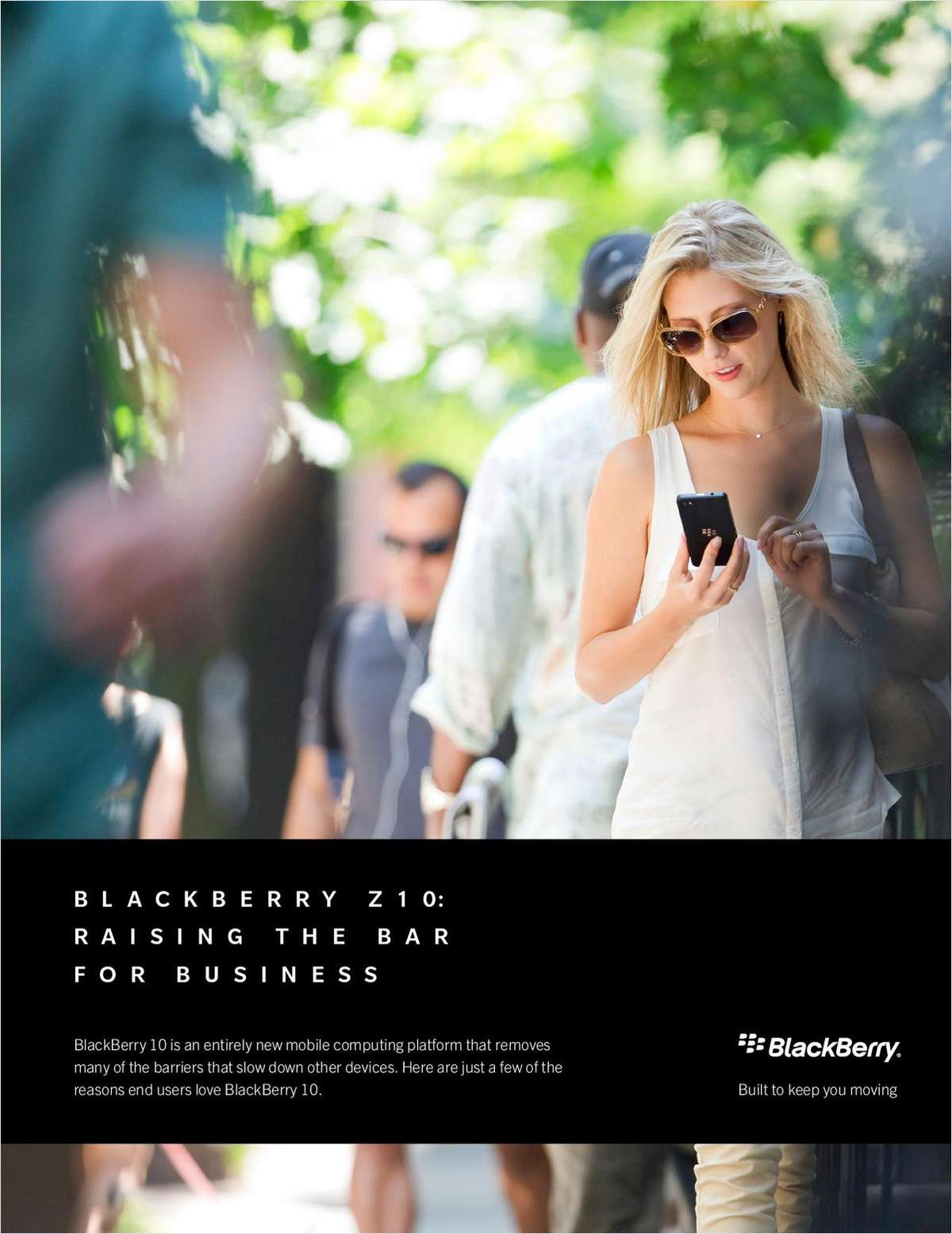 How BlackBerry Z10 Raises the Bar for Business