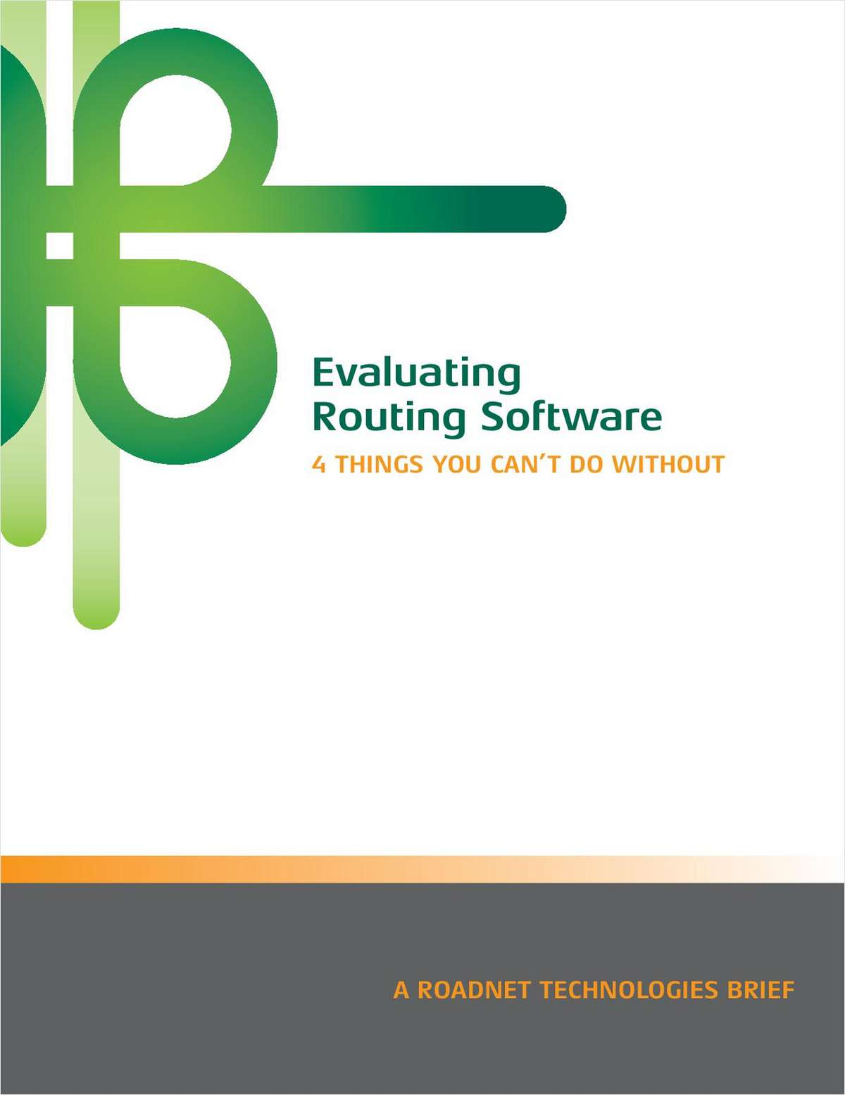 Evaluating Routing Software: 4 Things You Can't Do Without