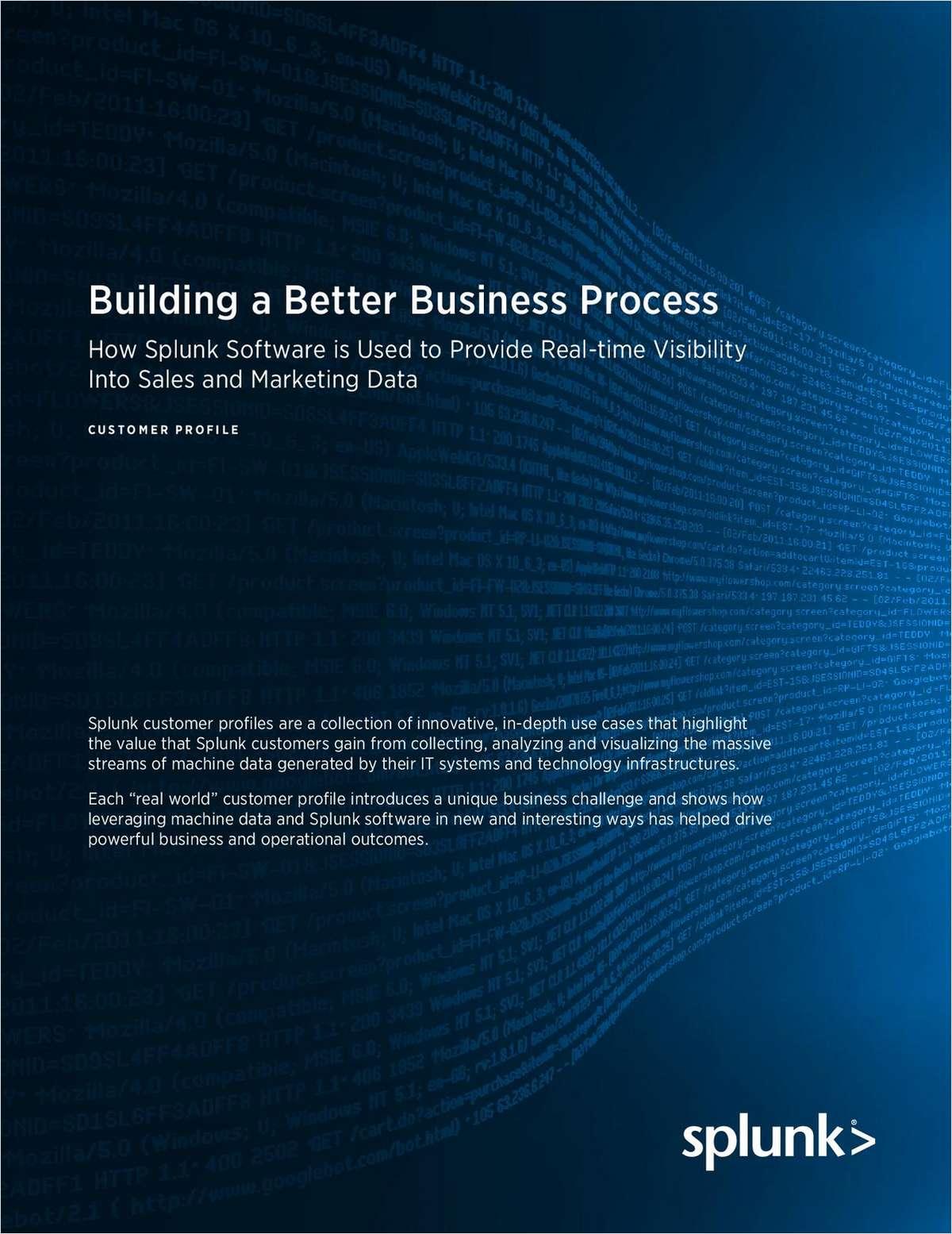 Building a Better Business Process