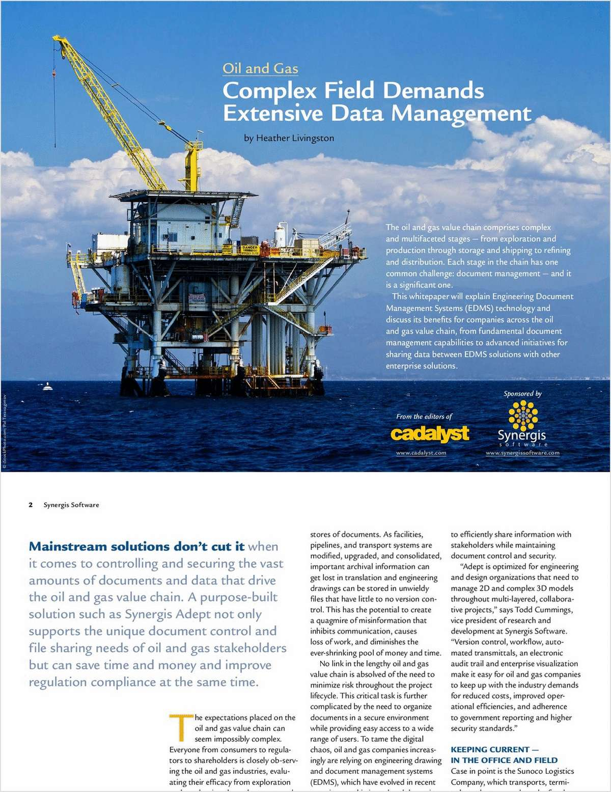 Tackling Engineering Document Management Chaos in the Oil & Gas Industry