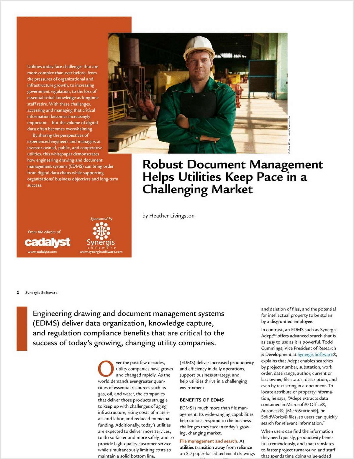 How 4 Utilities Used Engineering Document Management to Keep Pace in a Challenging Market