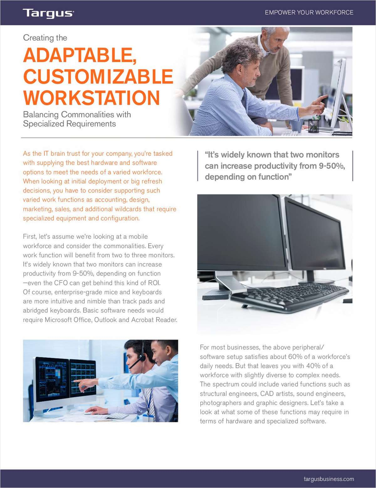Empower Your Workforce with Adaptable, Customizable, Workstations