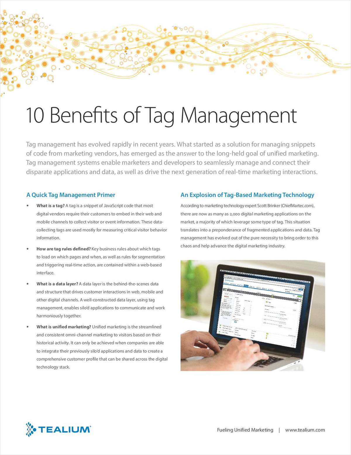 10 Benefits of Tag Management